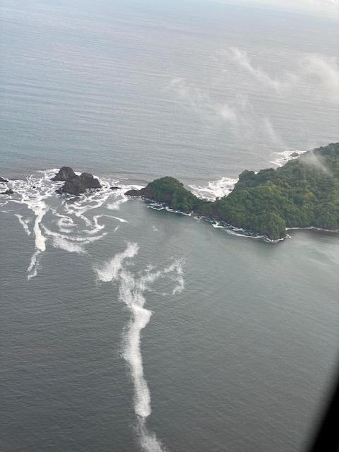 flight over santa teresa