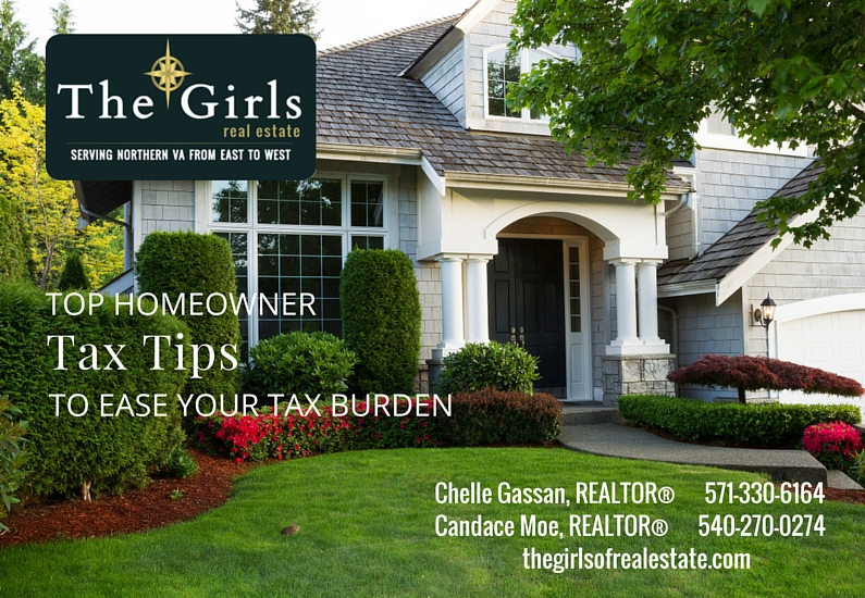 Homeowner Tax Tips From Northern Virginia Real Estate Agents - The Girls of Real Estate