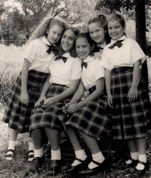 Original class of Girls' School Students - 2002