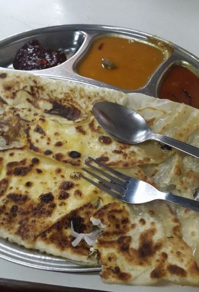 Actually had prata twice.. this was near the hotel on the first night