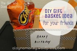 DIY Gift Basket Idea