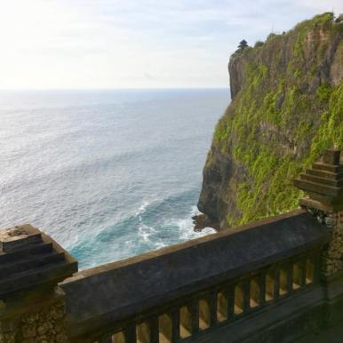 The shores of Uluwatu Temple