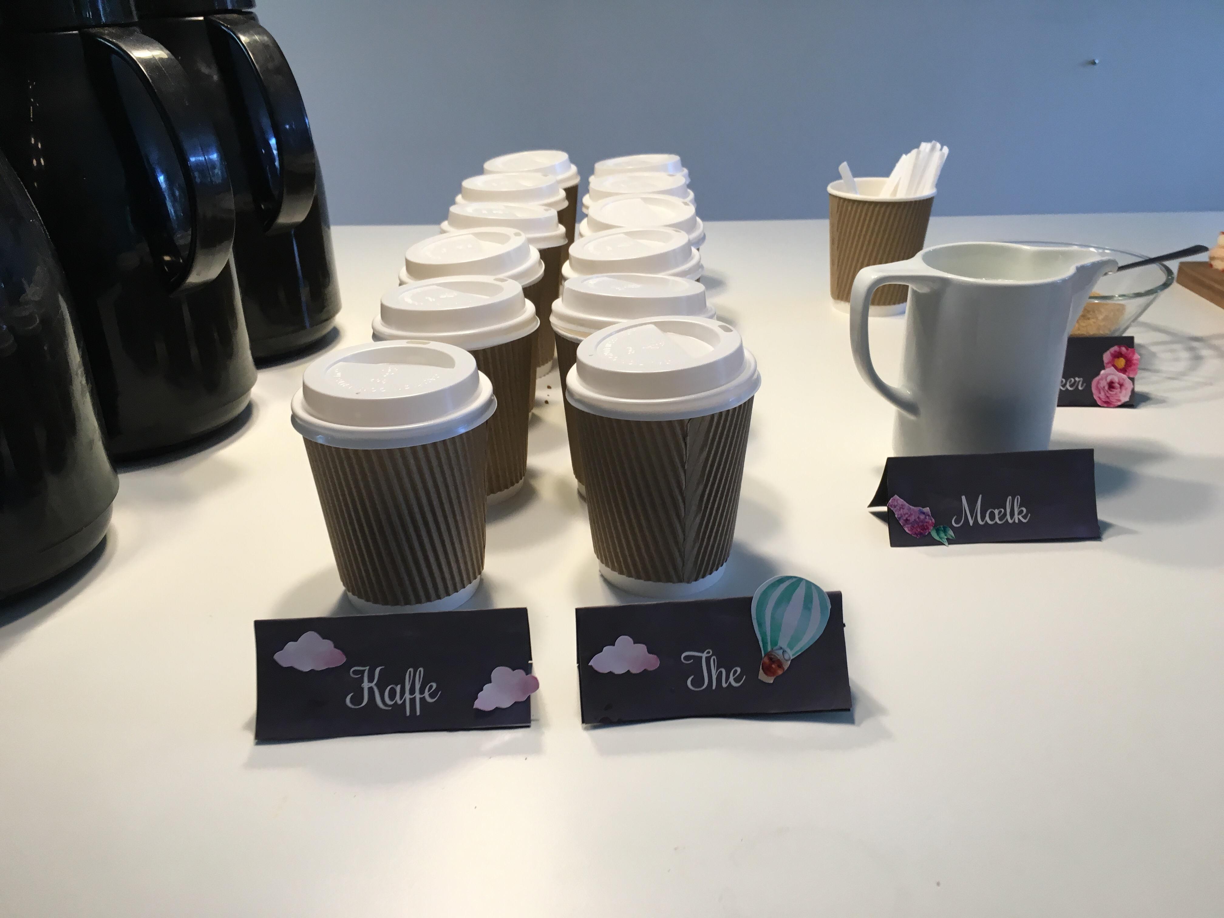 tag selv kaffe barnedåb