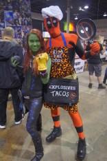 Gamora and Deadpool