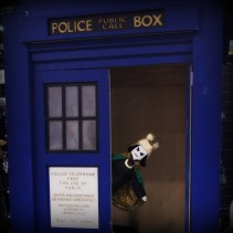 Puppet Loki finds the TARDIS. We are all doomed.