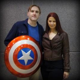 Undercover Steve and Natasha