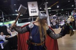 Thor vs. Puppet Loki