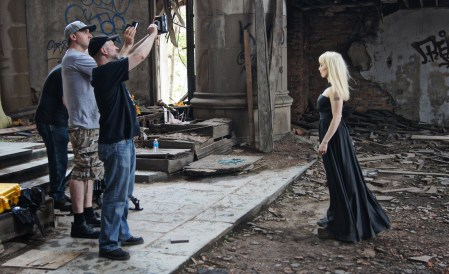 Dubwitch Video Shoot at City Methodist Church in Gary, IN