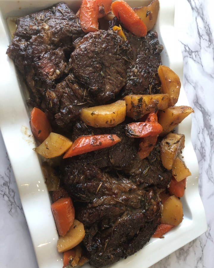 Tender Oven Pot Roast