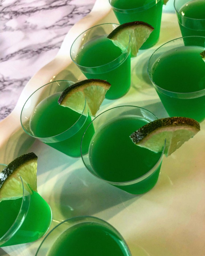 Easy Margarita Jell-o Shots