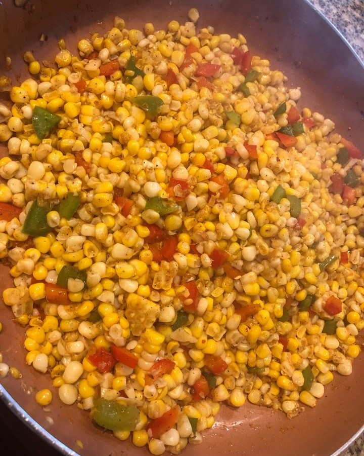 Southwest Chipotle Skillet  Corn