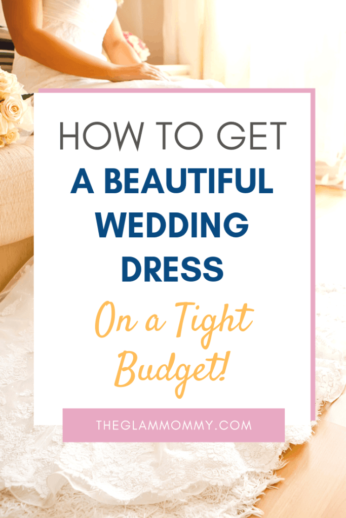 wedding dress on a tight budget where to buy