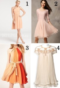 cheap-peach-chiffon-one-shoulder-sleeveless-a-line-knee-bridesmaid-dress-1