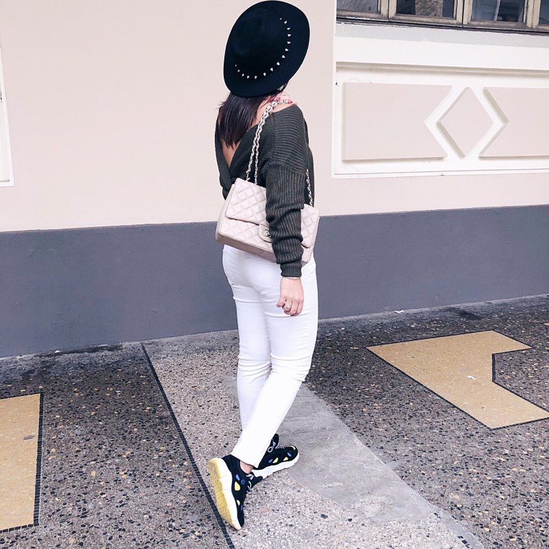 jean bianchi e sneakers