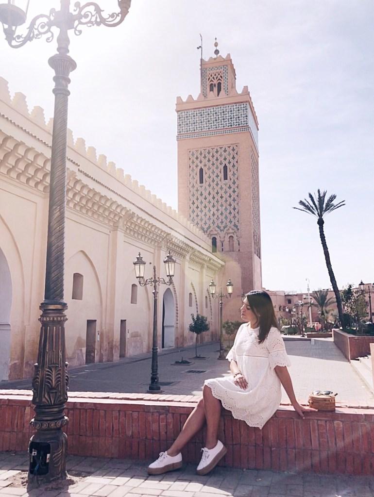 moschea della kasbah marrakech foto