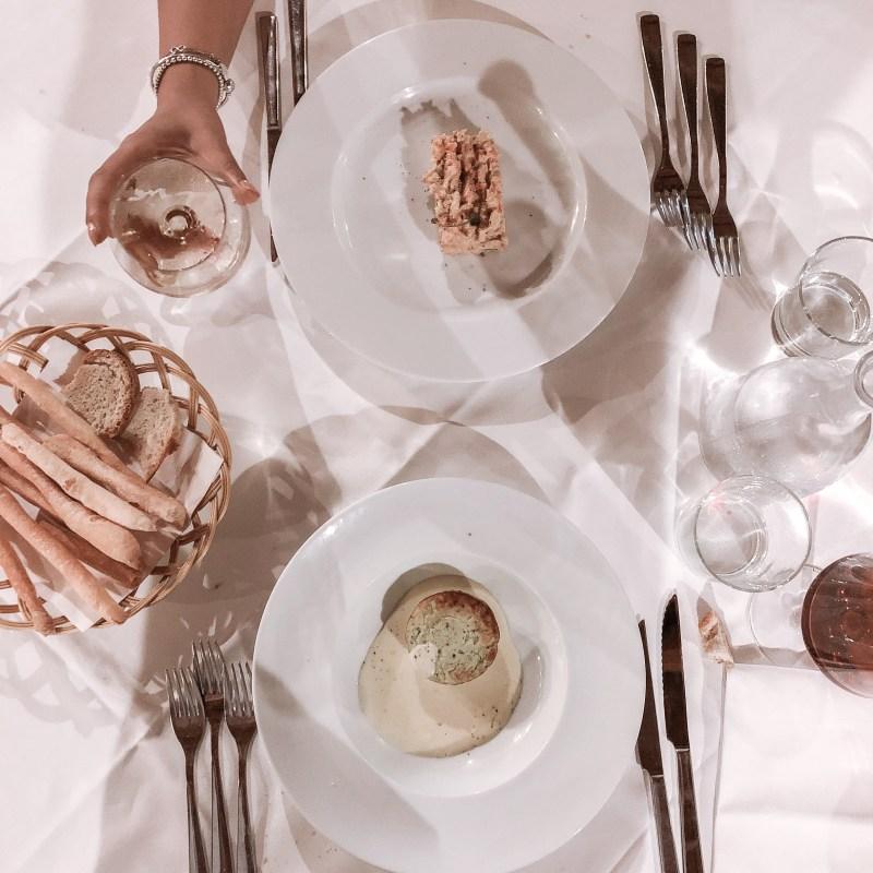 tavola cena ca san sebastiano