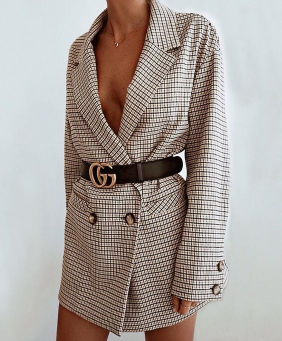 blazer dress come portarlo