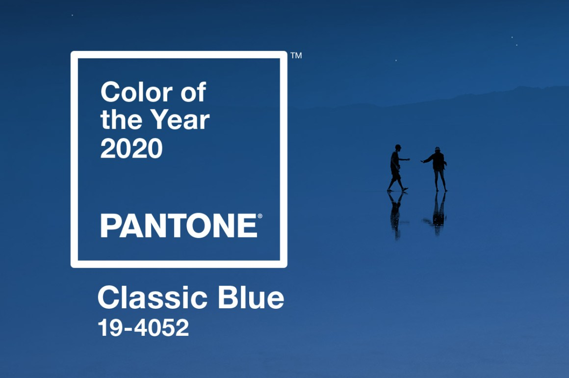 pantone classic blue tonalità