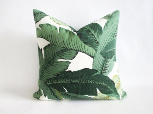 Etsy Pillow Leaf