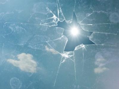 broken-glass ceiling