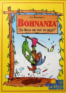 Bohnanza, the highly interactive card game of bean growing and trading