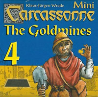 Carcassonne Mini 4: The Goldmines
