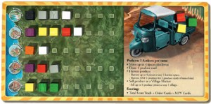 Cinque Terre player board