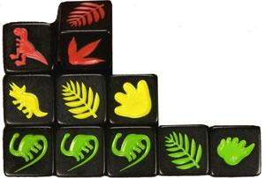 Dino Hunt Dice - the dice