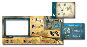 Discoveries player board
