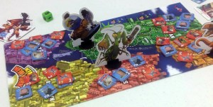 King of New York game board
