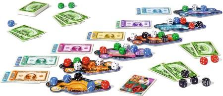 Las Vegas game components