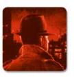 P.I. red Investigator token