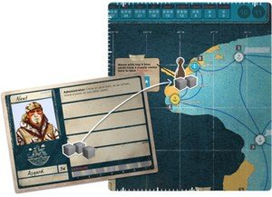 Pandemic Legacy: Season 2 - Deliver Supplies Action