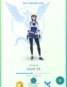 As you play, you'll gain experience and increase your Trainer level.