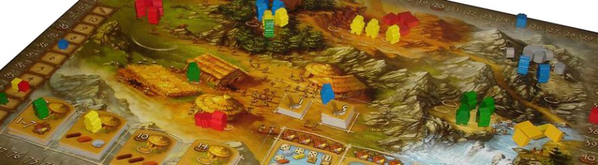 Stone Age - game in progress