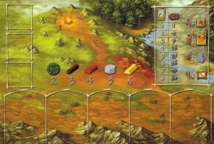 Stone Age - player board