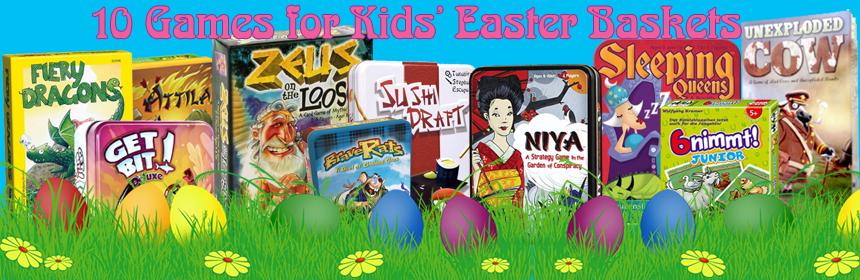 10 Games for Kids' Easter Baskets