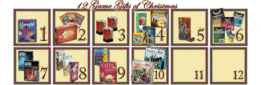 12 Game Gifts of Christmas: 10th Day
