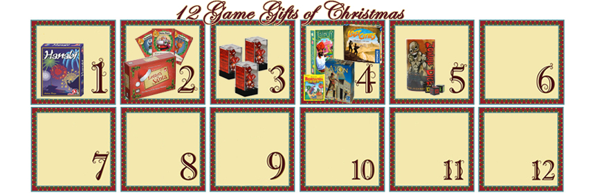 12 Game Gifts of Christmas: 5th Day