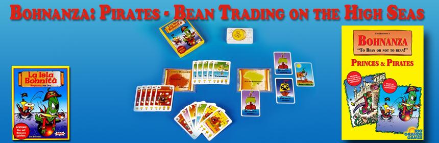 Bohnanza: Pirates - Bean Trading on the High Seas