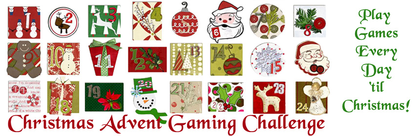 Christmas Advent Gaming Challenge