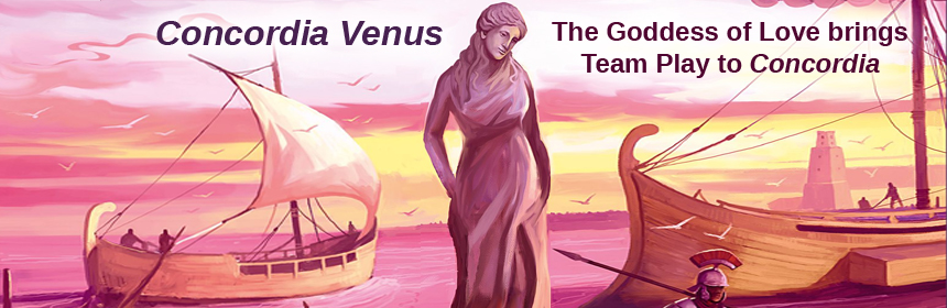Concordia Venus - The Goddess of Love brings Team Play to Concordia