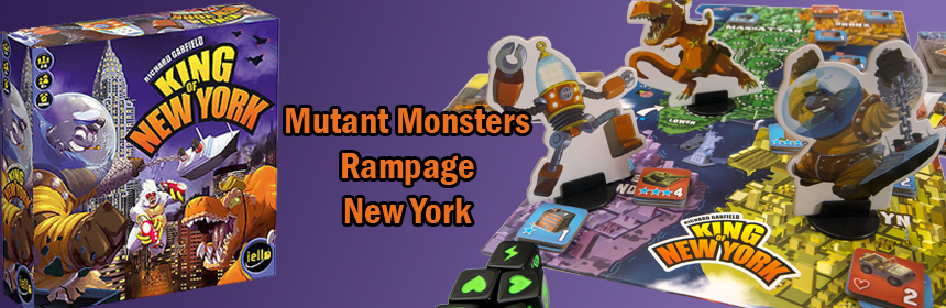 King of New York - Mutant Monsters Rampage New York