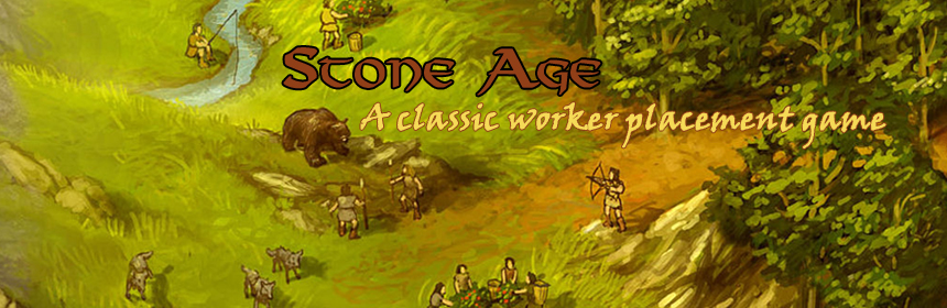 Stone Age - A classic worker placement game