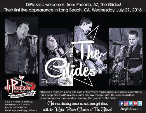 The Glides California Dreamin' Tour DiPizza's