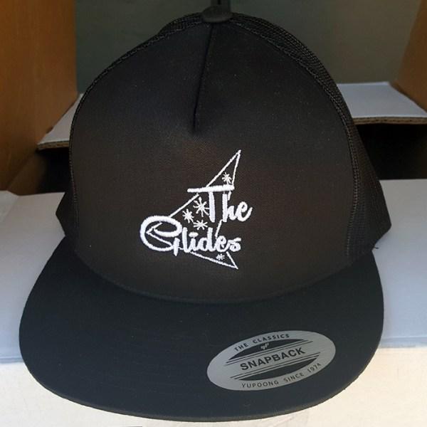 The Glides logo hat