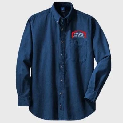 PC Value Denim Shirt Ink Blue
