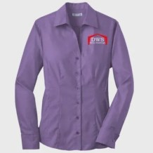 Red House Ladies French Cuff Oxford Purple Dusk
