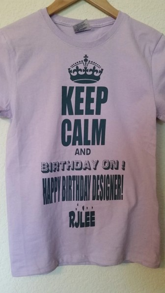 teacher birthday tee new