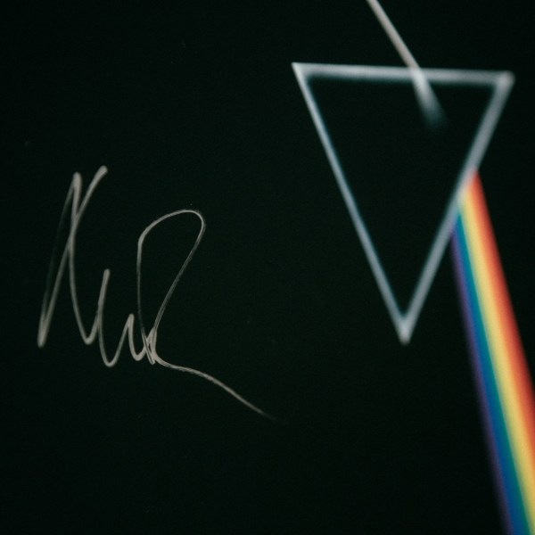 Pink Floyd Dark Side of the Moon Signed by Nick Mason